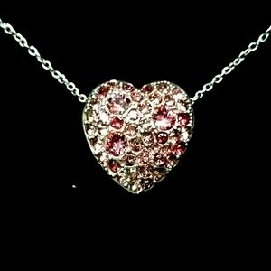 Brighton Anatolia Reverseable Heart Necklace